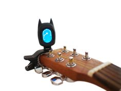 Batman Digital Clip-on Tuner $19.99 for ANY Instrument: Guitar, Ukulele, Violin, Cello, Banjo, Mandolin, Bass and more!