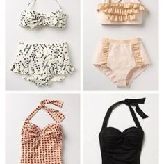 Vintage swimsuits!