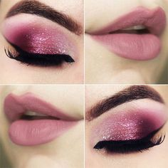 48 Best Sexy Pink Smoky Eye Makeup Ideas 😍 Makes You Star in Prom 💖 - 💖 𝙄𝙛 𝙔𝙤𝙪 𝙇𝙞𝙠𝙚, 𝙅𝙪𝙨𝙩 𝙁𝙤𝙡𝙡𝙤𝙬 𝙐𝙨 💖 💖 💖 💖 💖💖 Hope you like this colleciton! Smoky Eye Makeup, Glitter Eye Makeup, Pink Makeup, Eyeshadow Makeup, Makeup Eyebrows, Sparkly Makeup, Maquillage Cut Crease, Maquillage Mary Kay, Makeup Goals