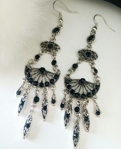 Boucles d oreilles Lucy via ohbonheurdesfilles. Click on the image to see more!