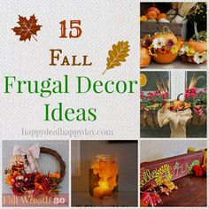 15 Frugal Fall Decor Ideas