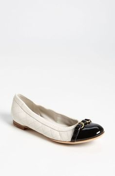 Free shipping and returns on Attilio Giusti Leombruni Quilted Ballet Flat at Nordstrom.com. A slim, decorative strap highlights the cap toe of an Italian-made ballerina flat crafted in a wide array of rich leather combinations. The elasticized topline and proprietary cushioning ensure a perfectly comfortable fit.