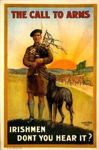Irish bagpiper? ...playing Scottish Highland pipes