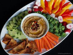 Olive Hummus recipe, kalamata olives, manzanilla olives, homemade hummus, meatless monday recipe