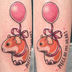 A favorite chubby childhood pet gets the tattoo treatment. Dope Tattoos, Great Tattoos, Body Art Tattoos, New Tattoos, Small Tattoos, Beautiful Tattoos, Future Tattoos, Atrapasueños Tattoo, Book Tattoo
