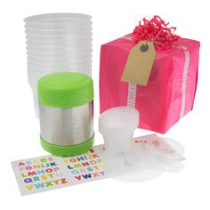 Set parents up for a successful, fuss free hands on weaning journey with our Baby Led Weaning gift set; by Mummy Cooks Food Portions, Batch Cooking, Baby Led Weaning, Food Labels, Food Storage Containers, No Cook Meals, Finger Foods, Flask, A Food