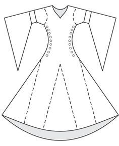 Costume History Medieval Garment Reconstruction On Pinterest Medie Pattern