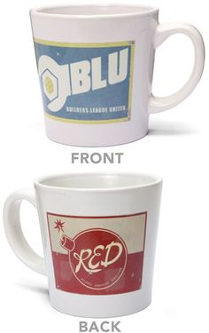 ThinkGeek :: Team Fortress 2 Mug