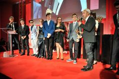 Director Stijn Coninx and the Youth jury.