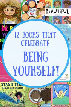 Babies to Bookworms offers a list of 12 books that celebrate being yourself! Teach kids to be confident in the things that make them unique. Preschool Books, Activities For Kids, Sequencing Activities, Therapy Activities, Book Suggestions, Book Recommendations, Toddler Books, Childrens Books, Parenting Books