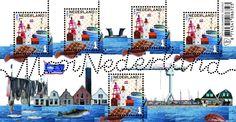 Het postzegelvel Mooi Nederland 2016: Urk is gebaseerd op de indeling en de perforatie die de serie Mooi Nederland al sinds 2005 kenmerkt. Op de vijf identieke postzegels met de waardeaanduiding 1 voor bestemmingen binnen Nederland zijn kenmerkende objecten en gebouwen uit Urk afgebeeld: de boei UK 1 (foto), de vuurtoren (tekening) en de kotter UK 244 (foto) met daaronder de zee.