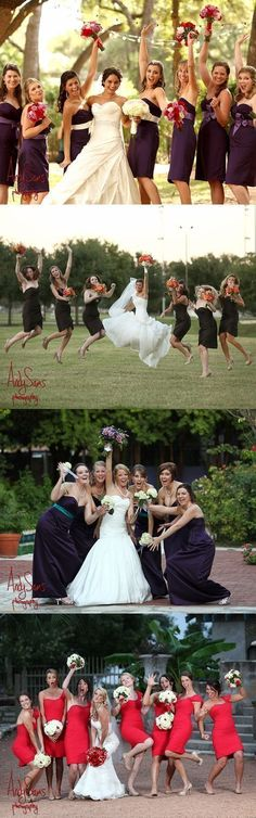 wedding photography pose ideas for edgy | Bridesmaids Photo Ideas | Austin Wedding Ideas #weddingphotographyposes