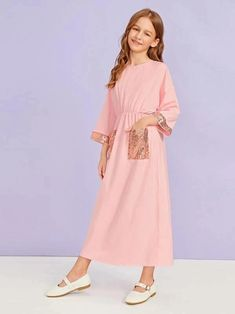 Box Pleated Dress, Belted Shirt Dress, The Dress, Dresses Kids Girl, Cute Dresses, Houndstooth Dress, Kids Frocks, Frock Design, Tween