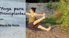 En este video de yoga giramos la espalda para fortalecer y estirar.