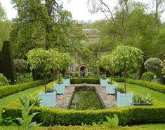 the dower house garden morville via landscapefocused.tumblr