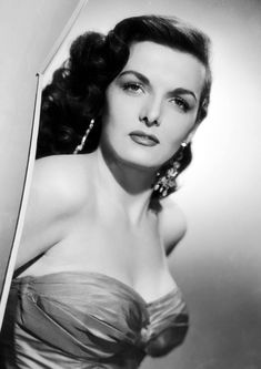 Jane Russell Monochrome Photographic Print 29 Size – x – x Ideal For Framing Old Hollywood Glamour, Golden Age Of Hollywood, Vintage Hollywood, Hollywood Stars, Classic Hollywood, Jane Russell, Old Movie Stars, Classic Movie Stars, Classic Actresses