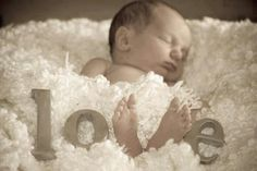 Adorable newborn pic!