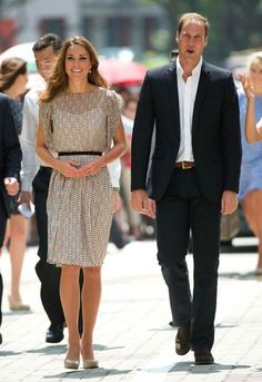 Catherine Middleton, Duchess of Cambridge, tours Singapore with her Prince