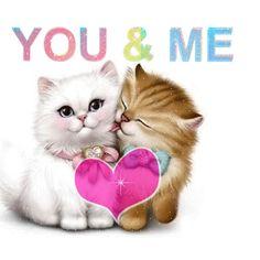 Glitter Graphics: Love kitties!