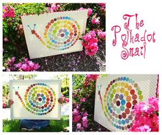 Polkadots On Parade The Polkadot Snail Craft Project