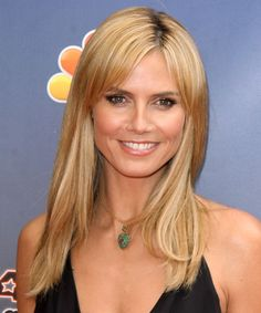 28 heidi klum hairstyles heidi klum hair pictures layered hair heidi klum long straight casual hairstyle medium blonde honey hair color urmus Images