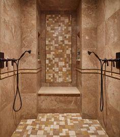 Lakeside Lookout Master Suite - mediterranean - Bathroom - Seattle - Gelotte Hommas Architecture