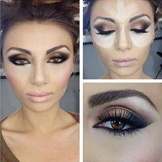 Highlight Technique  Makeup Ideas  Hazel Eyes
