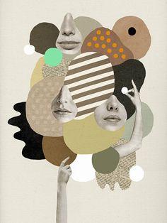 Girls Rock print by MathildeShop