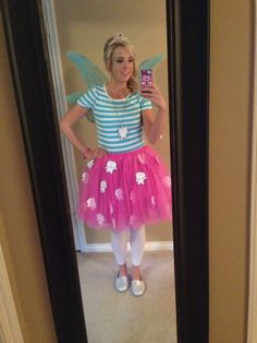 I absolutely loved the way my tooth fairy costume turned out this year....it was a huge hit with both my students and their parents!