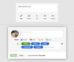 Status Update from Google Plus › PatternTap