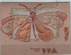 Handmade blank greeting card for any event  Coppergold door Vlada19, $8.00