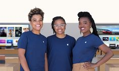 #iladies Apple's top management largely white and male, but overall workforce trending toward diversity #applenews