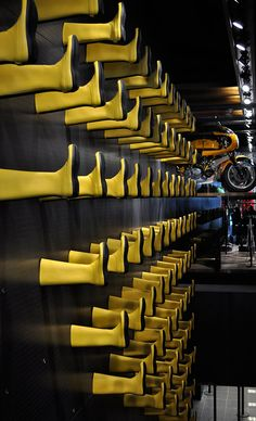 Pirelli flagship store, Milan, Italy designed by Architect Renato Montagner