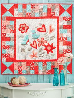 When you think quilting, you simply must think the April 2013 issue of Quilter's World magazine! Patchwork Quilting, Lap Quilts, Panel Quilts, Small Quilts, Mini Quilts, Applique Quilts, Quilting Projects, Quilting Designs, Quilting Ideas