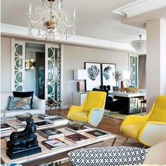 Living room in a glamorous apartment in Madrid anchored by a glorious pair of  Aldo Morbelli chairs. Designed by the team of Living Pink.    #interiordesign #interiors #interior #interiores #interiordesignideas #interiorinspiration #interiorinspo #instadecor #instadesign #interiordesign #interiordesigner #design #homedecor #midcenturymodern #midcentury #midcenturyfurniture #mcm #modern #mood #elledecor #architecturaldigest #vogueliving #italiandesign #italian #nyc #newyork #vintage…