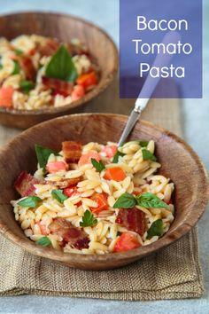 Bacon Tomato Pasta Salad