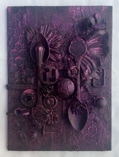 Mixed media spoon canvas 3 @isblueart @createcraftau