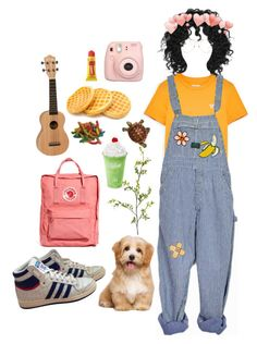 Untitled #42 by lemonboy-222 on Polyvore featuring polyvore adidas Fjällräven Linda Farrow Carmex Pier 1 Imports Fujifilm INDIE HAIR fashion style clothing