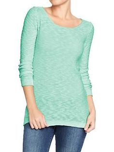 Women's Marled 3/4-Sleeve Sweaters | Old Navy