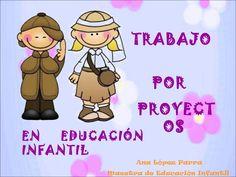 Ana López Parra nos ofrece una presentación que facilita la programación de un Proyecto de Investigación en el aula de Educación Infantil.