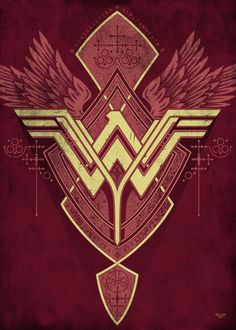 """Official Wonder Woman Symbols Of Hope Warrior #Displate artwork by artist """"DC Comics"""". Part of a 12-piece set featuring designs of some of the characters from the popular #WonderWoman comic book franchise. £35 / $49 per poster (Regular size) £71 / $99 per poster (Large size) #DianaPrince #Themyscira #JusticeLeague #BatmanVSuperman #DCComics #Superhero"""