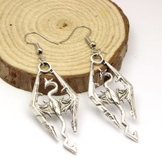 Get This Skyrim Elder Scrolls V Dragon Drop Earrings for just $9.95 (instead of $12.95) Now! - FREE SHIPPING! Be Sure To Claim Yours Before They're Gone! Payment is Guaranteed To Be 100% Safe and Secu