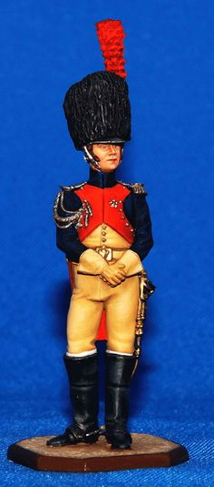 Французский бригадный генерал Анри - 1812  ММС