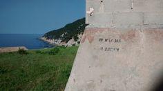 """It was all a dream"" - graffito in  banyalbufar"