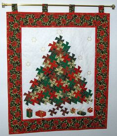 How to make a Twister Christmas Tree:  http://www.quiltingboard.com/tutorials-f10/how-make-twister-christmas-tree-t169683.html