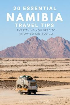 So you can have the best possible trip to Namibia, here are our top 20 Namibia travel tips to know before visiting this remarkably beautiful country | Things to know before visiting Namibia | Namibia travel tips | Namibia guide | Namibia how to | Tips for Namibia | Travel Tips | Namibia things to know | Africa travel tips | #Namibia #Africatravel #Namibiatravel