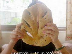 Rosemary mask bread 免揉法式迷迭香面具(葉子)麵包