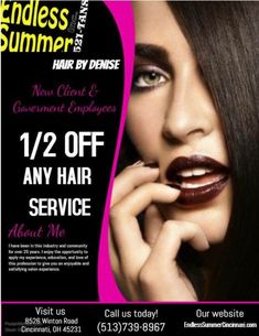 Airbrush Tanning, Summer Hairstyles, Cincinnati, Salons, Summer Hairdos, Lounges, Summer Hair