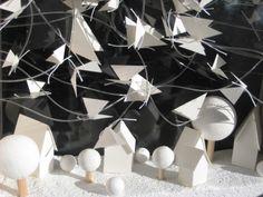 Papillons sous la neige