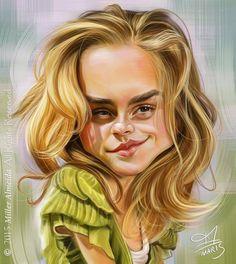 """Emma Watson"" por Miller Almeida"
